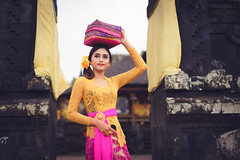 Bali (Patrick Foto ;)) Tags: adult agriculture art balineseculture beauty ceremony costume dancing dress fashion females hinduism indonesia indonesianculture island landscapescenery morning nature outdoors parade people photography religion ruralscene sarong street temple tourism tradition travel tropicalclimate walking women asia bali model summer teenage young karangasem
