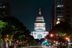 Texas State Capitol Building - Austin, Texas (joncutrer) Tags: texas austin austintexas texasstatecapitol capitol texascapitol atx travel tourism government building night street architecture politics nightshot