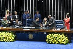 Plenário do Senado (PresidenciaSF) Tags: plenário sessãoespecial homenagem generaledsonlealpujol hamiltonmourão senadordavialcolumbredemap generaleduardodiasdacostavillasbôas raqueldodge senadorchicorodriguesdemrr palmas brasília df brasil