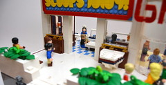 Scoops Ahoy! at the Starcourt Mall (mkjosha) Tags: stranger things scoops ahoy starcourt mall darker hawkins lego