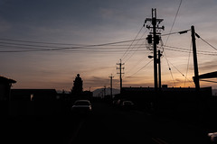 SUNSET (a17731952) Tags: 宜蘭 羅東 四結 剪影 夕陽 夕照 sunset d750 24120g 24120mm