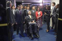 Presidência do Senado (PresidenciaSF) Tags: presidência homenagem hamiltonmourão generaleduardodiasdacostavillasbôas raqueldodge brasília df brasil