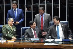 Plenário do Senado (PresidenciaSF) Tags: plenário sessãoespecial homenagem generaldeexércitoedsonlealpujol hamiltonmourão senadordavialcolumbredemap senadormarciobittarmdbac brasília df brasil