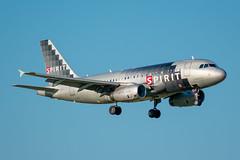 N529NK Airbus A319-100 Spirit (SamCom) Tags: n529nk airbus a319100 spirit a319