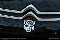 Autobot (srkirad) Tags: car citroen closeup logo transformers autobot szolnok hungary travel shiny polished chrome