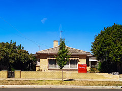 Family House No. 6. (dagboshoots) Tags: home house ballarat memories cricket footy backyards suburbia australia childhood blue grass summer trees backyard kicktokick travel p20 p20pro huawei