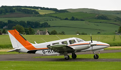G-HTRL Seneca, Scone (wwshack) Tags: egpt pa34 psl perth perthkinross perthairport perthshire scone sconeairport scotland ghtrl
