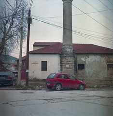 reused mosque (Vinzent M) Tags: brillant heliar 75 zniv voigtländer macedonia fyrom македонија kodak portra bitola monastir битола манастир dinamo