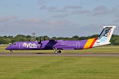 G-JECZ DHC-8Q 402 Flybe MAN 23-07-19 (PlanecrazyUK) Tags: egcc manchester ringway manchesterairport gjecz dhc8q402 flybe man 230719
