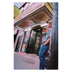 Chicago China Town//Contax G1 28mm Biogon// Kodak Pro Image 100 (Red-the-daydreamer) Tags: chicago china town contax g1 28mm biogon film is dead death b4 digital street photography negative lab pro kodak image 100