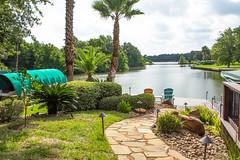 Garden View (Ellsasha) Tags: garden lake montgomery texas lakeconroe green grass trees path pathway boathouse