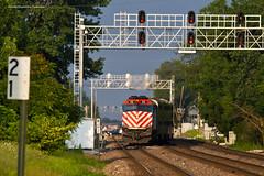The Department of You've Been Here Too Long! (tim_1522) Tags: rail railroads railfanning il illinois burlingtonnorthernsantafe bnsf bn burlingtonnorthern chicago sub subdivision metra passenger commuter emd f40ph3