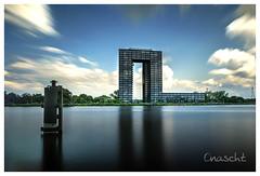 'U' Building Groningen (Onascht) Tags: d850 landscape art nature water city outdoor amateurphotography lzb outside architecture heaven nikonphotography photoart groningen windmill digitalart netherlands nikon clouds