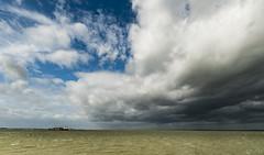 Waarde (Omroep Zeeland) Tags: westerschelde waarde wolken wolkenlucht scheepvaart regenbui regenwolken