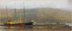 Inveraray Harbour(Scotland) (williamwalton001) Tags: pentaxart scotland texture boats colourimage landscapephoto loch harbour