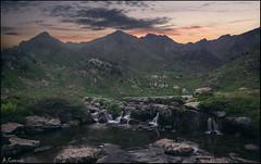 Lago de Tristaina. (antoniocamero21) Tags: paisaje atardecer color foto sony montaña lago agua cielo nubes rocas ordino andorra
