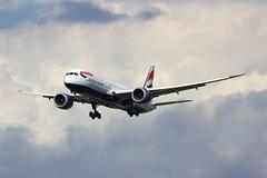B787 G-ZBKD London Heathrow 02.08.19-LGE (jonf45 - 5 million views -Thank you) Tags: airliner civil aircraft jet plane flight aviation london heathrow international airport lhr egll b787 787 dreamliner 789 b789 british airways boeing 7879 gzbkd