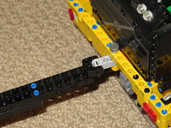 LEGO 42030 towing trailer! (RS 1990) Tags: lego technic volvol350f trailer hitch towing august 2019 42030