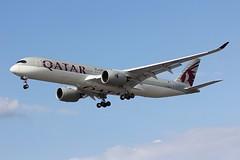 A350 A7-AMH London Heathrow 02.08.19 (jonf45 - 5 million views -Thank you) Tags: a350 airliner civil aircraft jet plane flight aviation london heathrow international airport lhr egll qatar airways airbus a350941 a7amh
