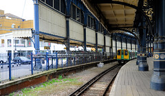 Brighton Station East Side (davids pix) Tags: brighton station architecture east coast kemp town branch platform canopy valance electric multiple unit 313220 2019 01082019