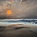 Baleful Aerial Scene of Pyrocumulonimbus Clouds, variant