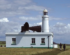 Photo of Nash Point Lighthouse and Foghorn
