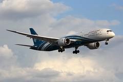B787 A4O-SF London Heathrow 02.08.19-LGE2 (jonf45 - 5 million views -Thank you) Tags: airliner civil aircraft jet plane flight aviation london heathrow international airport lhr egll b787 787 dreamliner 789 b789 oman air boeing 7879 a4osf