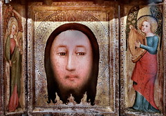 IMG_3080B Maestro Bertram 1330-1415 Hamburg  Triptyque de la Sainte Face Triptych of the Holy Face  ca 1390-1400 Madrid Thyssen-Bornemisza.
