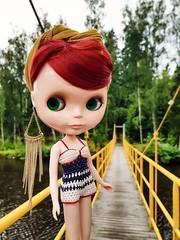 Having a summer trip around western Finland. Now we are checking out Pietarsaari ☺️    #blythe #blythedoll #doll #blytherougenoir #rougenoir #takara #takarablythe #dolliina #crochet #crochetdollclothes #crochetswimwear #dollclothes (Dolliina) Tags: doll blytherougenoir blythe crochet takara dolliina rougenoir takarablythe crochetdollclothes crochetswimwear blythedoll dollclothes