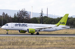 YL-CSC Airbus A220-300 airBaltic FRA 2019-08-10 (14a) (Marvin Mutz) Tags: ylcsc airbaltic airbus a220300 fra aviation planespotting avgeek aircraft airplane aeroplane plane pilot cockpit crew passenger travel transport jet jetliner airline airliner wings engines airport runway taxiway apron clouds sky flight flying bombardier cseries eddf frankfurt germany