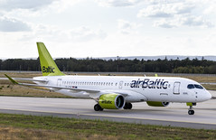 YL-CSC Airbus A220-300 airBaltic FRA 2019-08-10 (29a) (Marvin Mutz) Tags: ylcsc airbaltic airbus a220300 fra aviation planespotting avgeek aircraft airplane aeroplane plane pilot cockpit crew passenger travel transport jet jetliner airline airliner wings engines airport runway taxiway apron clouds sky flight flying bombardier cseries eddf frankfurt germany