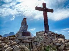Castellaz - Cristo pensante 3 (antonella galardi) Tags: trentino trento 2019 passorolle sanmartinodicastrozza escursione escursionismo trekking hiking castellaz cristopensante dolomiti dolomites