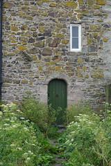 Entrance to the National Trust accommodation (Mackay) Tags: farne