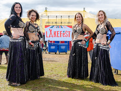 Syren Alternative Belly Dancers - Lakefest 2019 Sunday (griffp) Tags: bellydance bellydancing bellydancers bellydancer dancing dancers belly dance syren alternative syrenalternativebellydancers aurora beautiful woman female makeup costume bellydancecostume 2019 lakefest festival group posed offstage