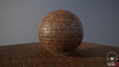 Red Bricks (Sergio Delacruz) Tags: bricks 3dart substance textures