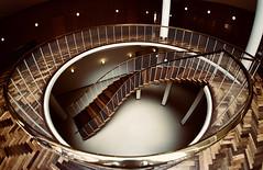Fisheye Stairs (kuestenkind) Tags: treppenhaus treppe stufen staircase stairs dänemark danmark denmark canon 6d fisheye weitwinkel 12mm architektur architecture
