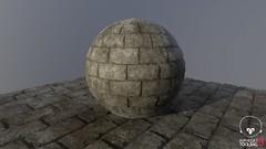 Stone Bricks (Sergio Delacruz) Tags: substance material texture artwork 3dart virtualexperience