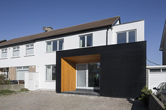 Architectural Farm _ Foxrock _ Dublin _ 2019 _ Front (SteMurray) Tags: approved foxrock house domestic ireland irish ste murray steie stemurray timber black corrugated facade light dusk interiors project architecture architectural