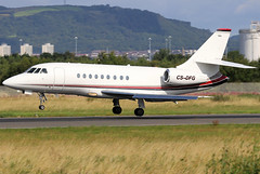 CS-DFG (GH@BHD) Tags: csdfg dassault falcon falcon2000 falcon2000ex nje netjets netjetseurope europeannetjets bhd egac belfastcityairport bizjet corporate executive aircraft aviation