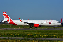 C-GJTX (Air Canada - rouge) (Steelhead 2010) Tags: airbus a321 a320200 aircanada rouge yyz creg cgjtx