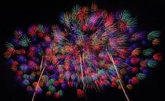 Fireworks in Nagaoka (6) (takashi muramatsu) Tags: fireworks nagaoka japan nikon d810 長岡花火 千輪 bestcapturesaoi elitegalleryaoi aoi