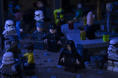 Don't Stand Out. Accept The Past. Trust No One (Ben Cossy) Tags: lego dark times cantina jedi empire star wars order 66 stormtrooper moc afol tfol twilek