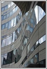 (Marga van Hulzen) Tags: germany köbogen kingsbow düsseldorf archdaniëllibeskind reflection