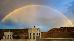 Hoover Rainbow (Daren Grilley) Tags: nevada arizona rainbow sky colorado river grand canyon boulder city usbr reclamation dam