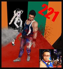 1000人斬り 221人目  GonzoTambourineMaster さん (dorothymagic) Tags: gonzo tambourine chainsaw 221 kill 2019