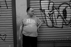 Smoking (Isidre Cor) Tags: fuji x100 bn monochrome street photography barcelona blanco y negro fotografia callejera people gente