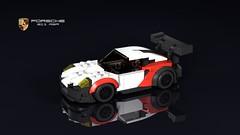 Porsche 911 RSR (2018) (THIRMO) Tags: thirmo vonerics lego moc 6wide cityscale porsche911rsr porsche 911 rsr 991 porscheintelligentdesign gt2 gte gtlm fia wec imsa lemans factory works team ldraw povray minifig 2017 2018 2019