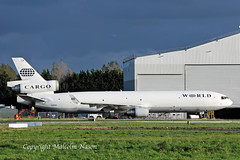MD11F N381WA WORLD (shanairpic) Tags: jetairliner cargo freighter md11 md11f shannon world