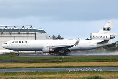 MD11F N276WA WORLD (shanairpic) Tags: jetairliner cargo freighter md11 md11f shannon world