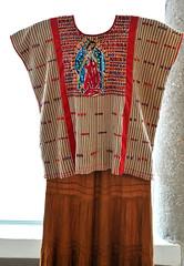 Zacatepec Huipil Mexico Oaxaca Textiles (Teyacapan) Tags: museo oaxaca mexican textiles huipils mixtec tacuate santamariazacatepec guadalupe weavings clothing vestimenta